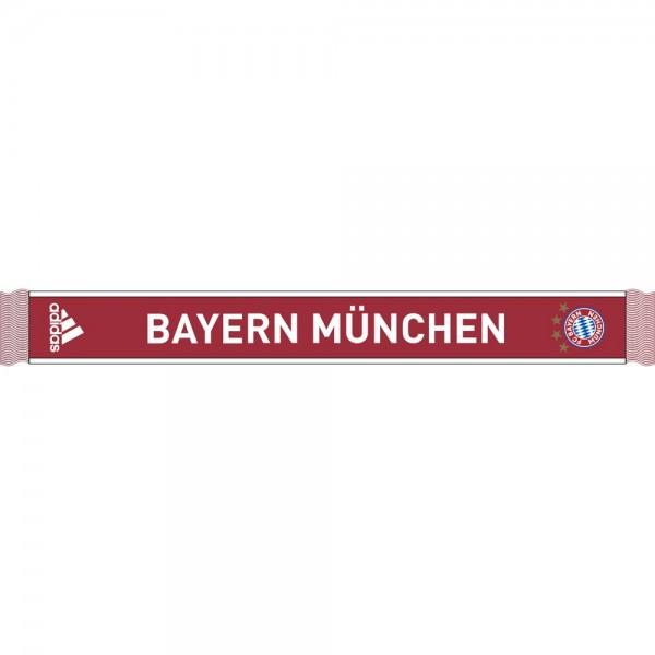 Adidas FC Bayern München Fanschal 2020 2021 Herren rot