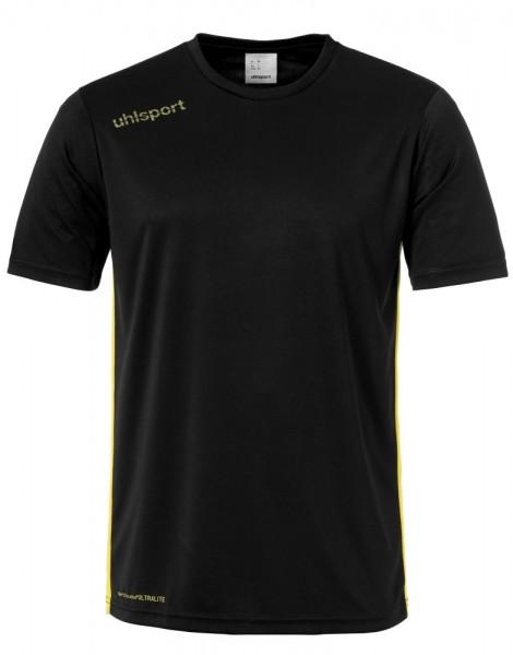 Uhlsport Fußball Essential Trikot Kinder Kurzarmshirt schwarz gelb
