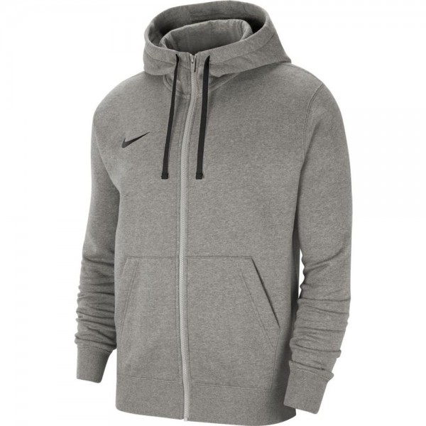 Nike Team 20 Kapuzenjacke Herren grau schwarz