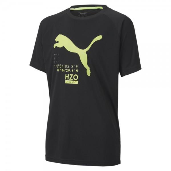 Puma Active Sports T-Shirt Jungen schwarz