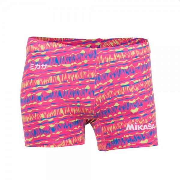 Mikasa Beachvolleyball Bermuda Tights Damen pink