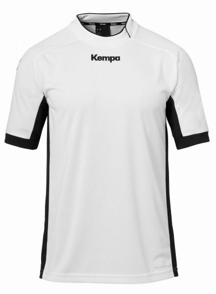 Kempa Handball Prime Trikot Herren Kinder Kurzarm Trainingsshirt weiß schwarz