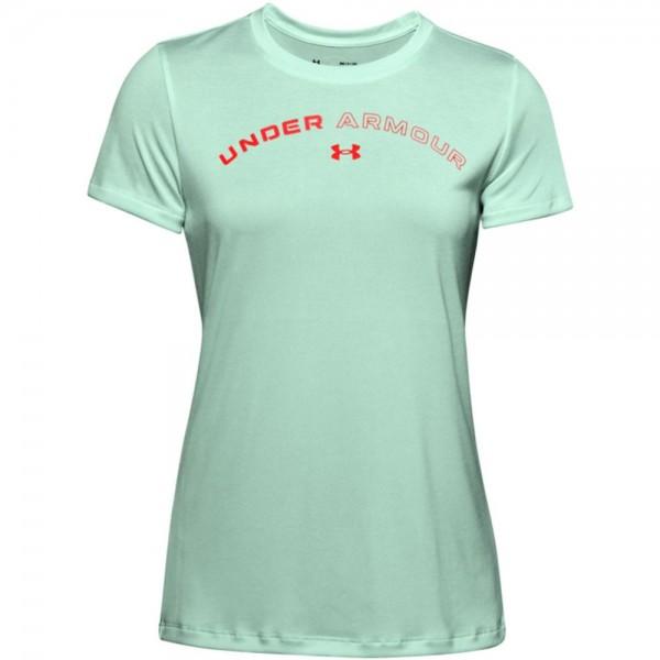 Under Armour Damen UA Tech Twist Graphic T-Shirt blau