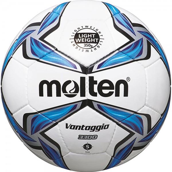 Molten Fußball F5V3335 Leichtball weiß blau silber Größe 5