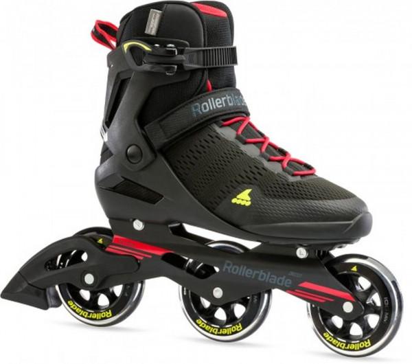 Rollerblade Sirio 100 3wd Inline Skates Herren schwarz rot