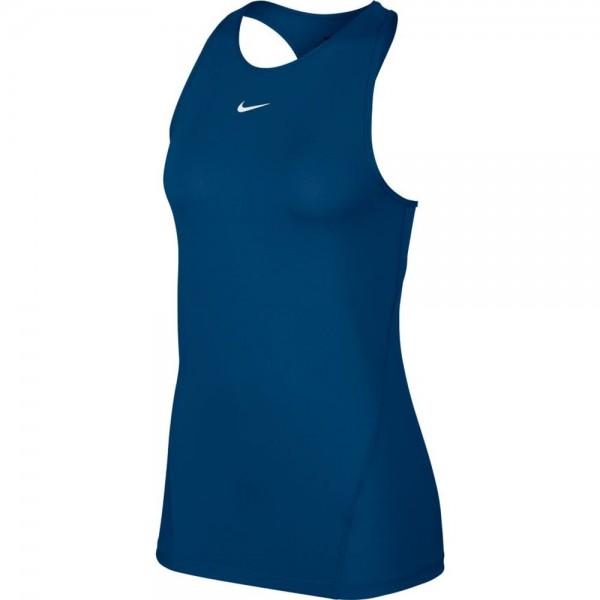 Nike Pro Mesh-Tanktop Damen blau