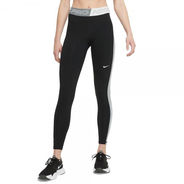 Nike Pro Graphic Lauftights Damen schwarz