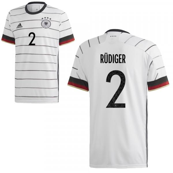 Adidas Deutschland Heimtrikot UEFA Euro 2020 Herren Rüdiger 2