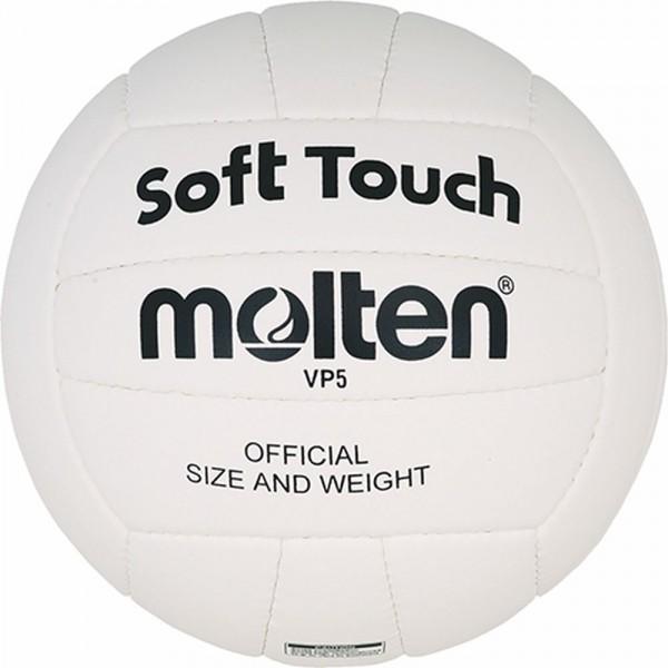 Molten Volleyball VP5 Trainingsball weiß schwarz Größe 5