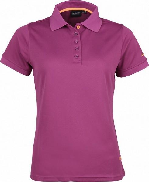 High Colorado Outdoor Damen Seattle-L Funktions Poloshirt lila