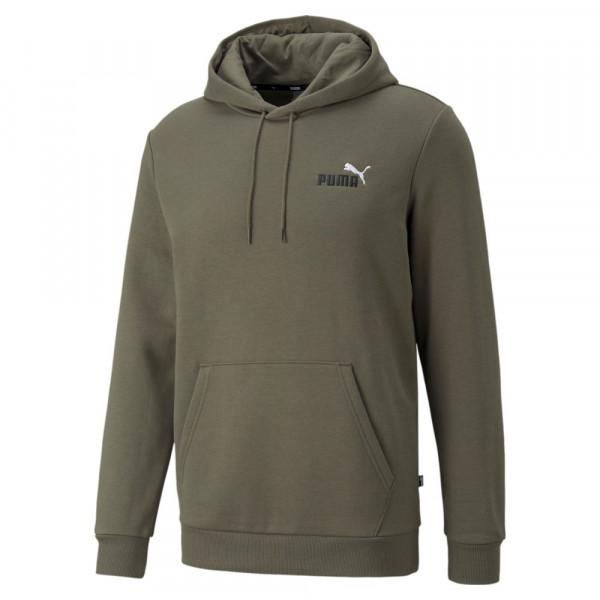 Puma Essentials+ Embroidery Logo Hoodie Herren dunkelgrün