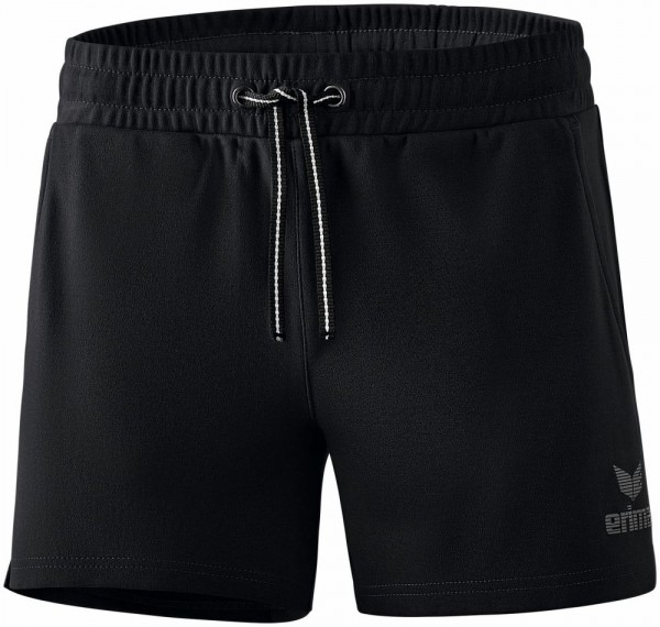 Erima Training Essential Sweatshorts kurze Hose Damen schwarz