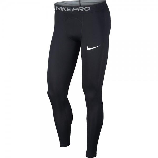 Nike Pro Herren Tights schwarz weiß