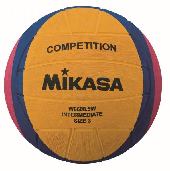 Mikasa Wasserball W6608.5W Competition Intermediate Ball Gr 3 gelb blau pink