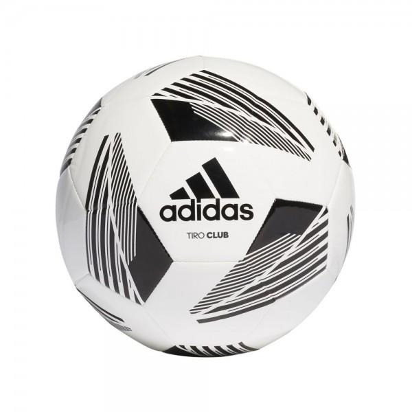Adidas Tiro Club Ball weiß schwarz