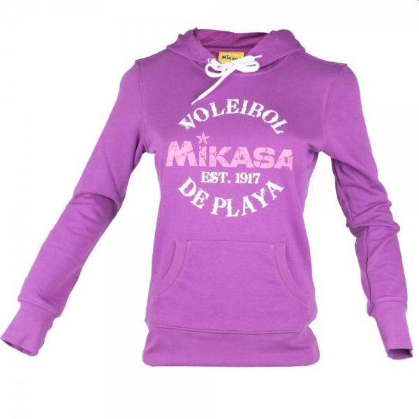 Mikasa Beachvolleyball Hoodie Damen lila