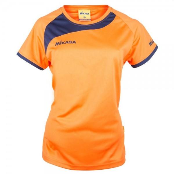 Mikasa Volleyball Trikot Damen orange navy