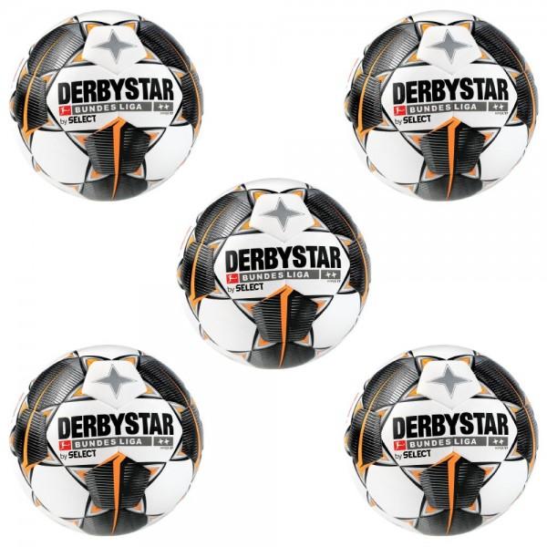 Derbystar Bundesliga Hyper TT IMS Trainingsball 5er Paket Gr 5