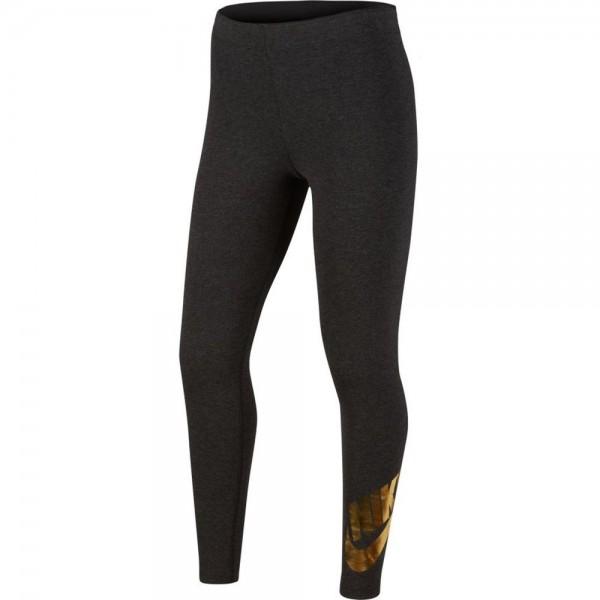 Nike Sportswear Leggings mit Grafik Kinder schwarz gold