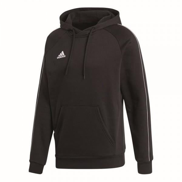 Adidas Fußball Core 18 Hoodie Kapuzenpullover Kinder schwarz