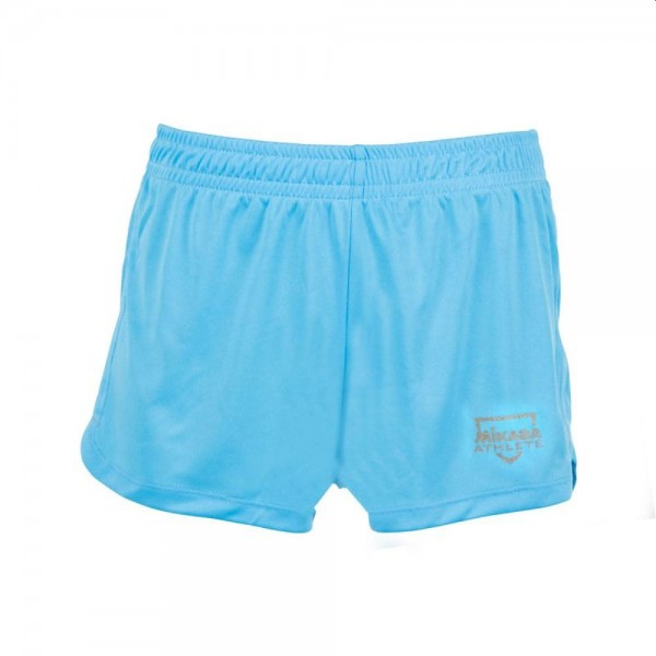 Mikasa Beachvolleyball Shorts Damen hellblau