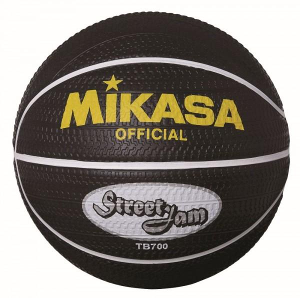 Mikasa Basketball TB 700 Street Jam Outdoor Streetball Gr 7 schwarz