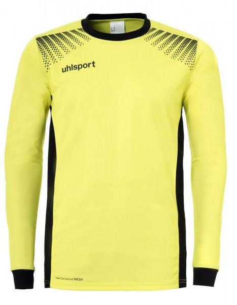 Uhlsport Fußball Goal Torwartshirt Kinder Langarm Trikot gelb schwarz