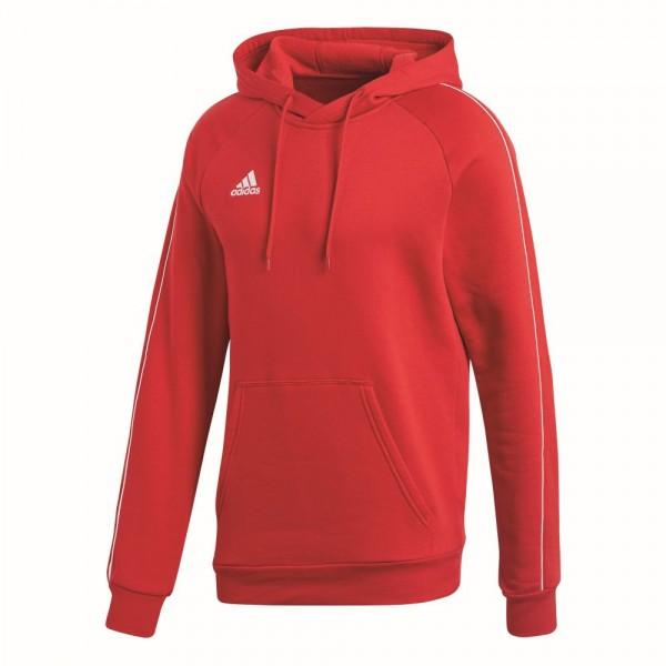 Adidas Fußball Core 18 Hoodie Kapuzenpullover Herren rot