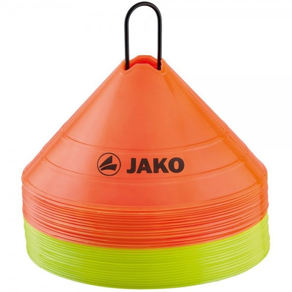 Jako Fußball Markierungshütchen gelb orange