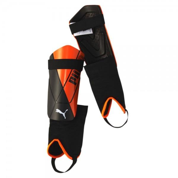Puma ftblNXT Pro Flex Ankle Schienbeinschoner orange schwarz