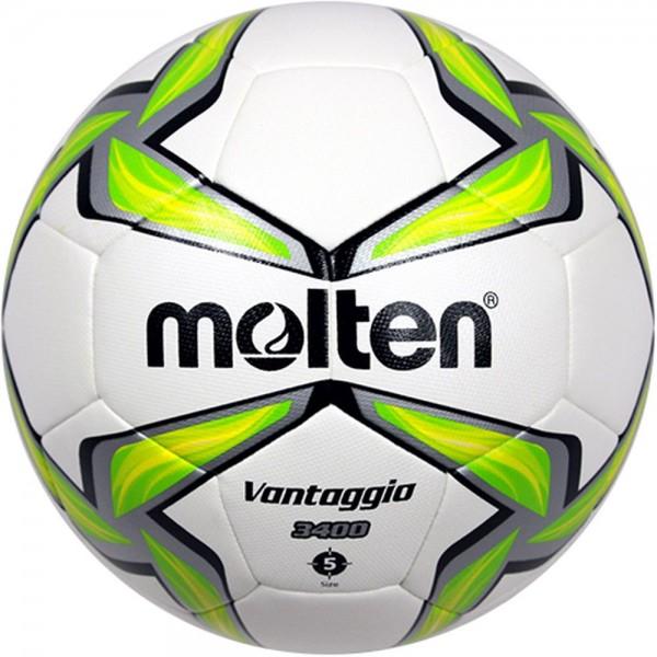Molten Fußball F5V3400-G Trainingsball weiß grün silber Gr 5