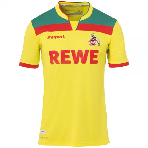 Uhlsport 1. FC Köln Ausweichtrikot 2020 2021 Sponsor Logo Herren