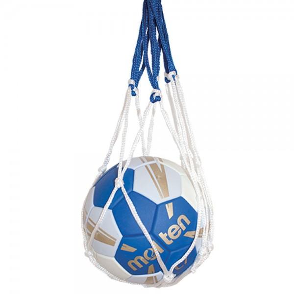 Molten Ballnetz für 1 Ball blau weiß