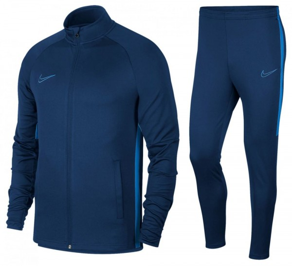 Nike Dri-FIT Academy Fußball Trainingsanzug Herren blau