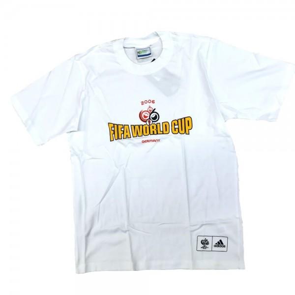 Adidas Unisex Fußball Kurzarm T-Shirt FIFA World Cup 2006 Germany Damen Herren Gr S