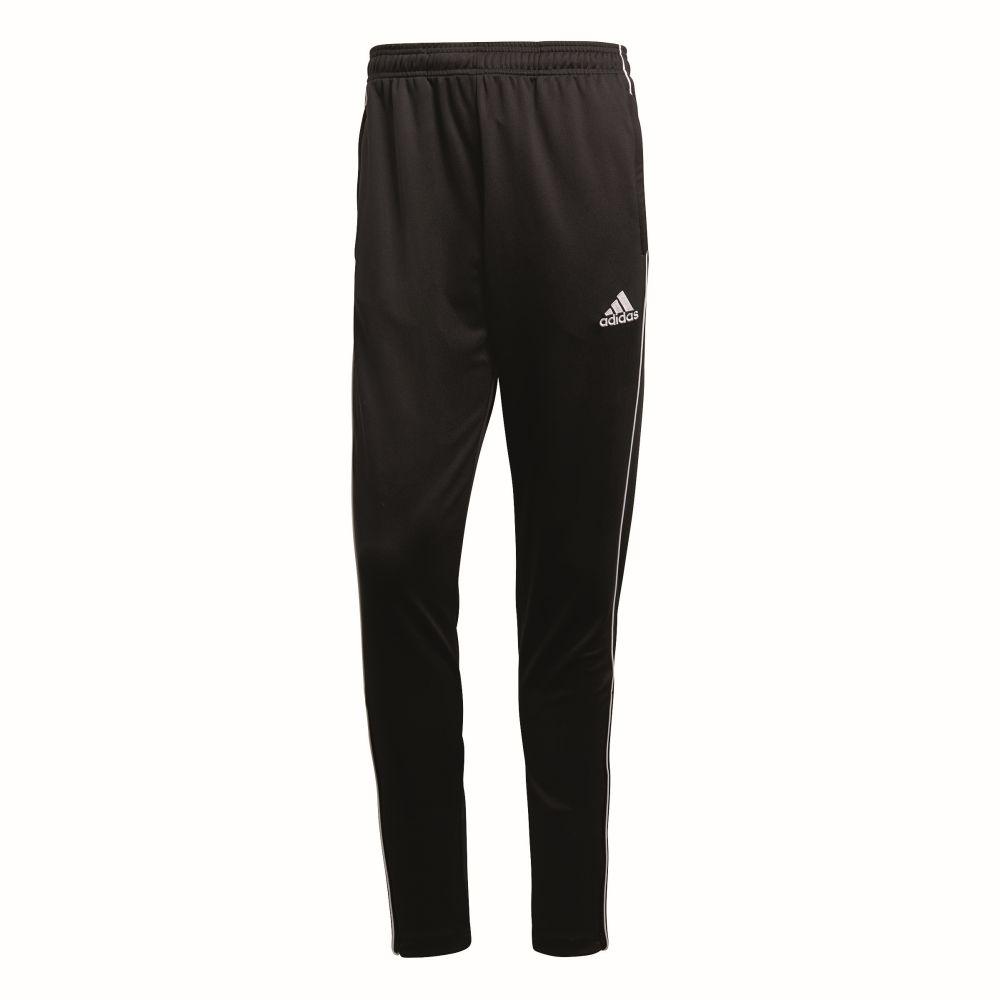Adidas Fußball Core 18 Trainingshose Fußballhose Herren schwarz