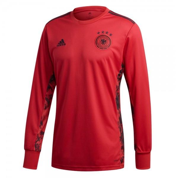 Adidas Fußball Herren DFB Deutschland Home Torwart Trikot Heimtrikot EM 2020 rot