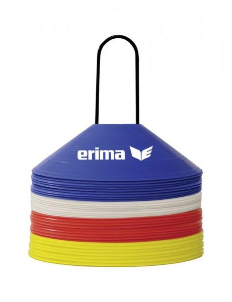 Erima Training Markierungshütchen Set, 40 Stk.