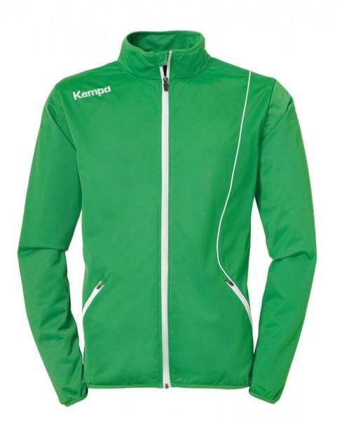 Kempa Handball Curve Classic Jacke Sportjacke Kinder grün weiß