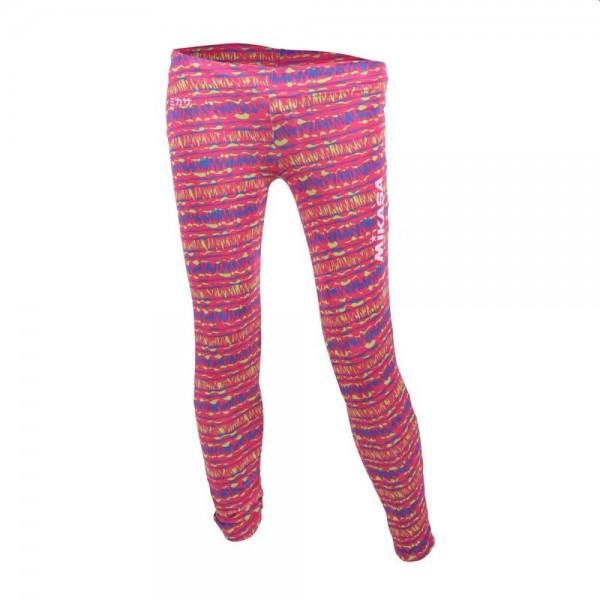 Mikasa Beachvolleyball Lange Tights Damen pink