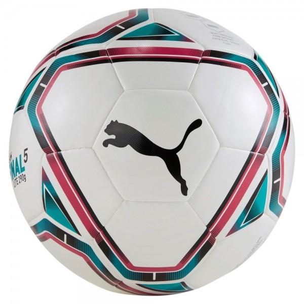 Puma FINAL 21 Lite Fußball 290g weiß rot grün