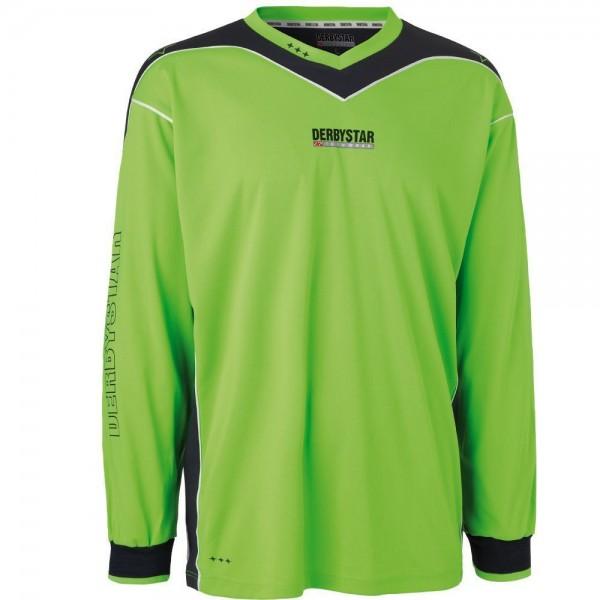 Derbystar Sport Fußball Torwarttrikot Brillant Herren grün antrazitgrau