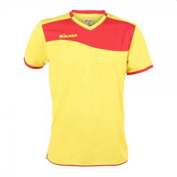 Mikasa Volleyball Trikot Herren gelb rot