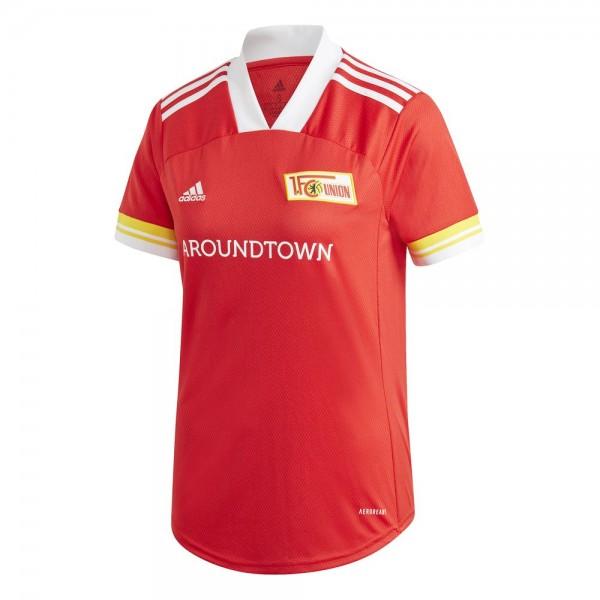 Adidas 1. FC Union Berlin Heimtrikot 2020 2021 Damen rot weiß