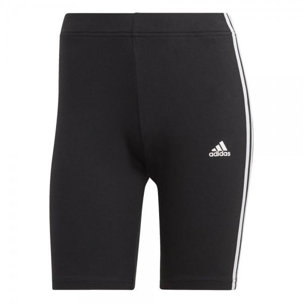 Adidas Essentials 3-Streifen Radlerhose Damen schwarz
