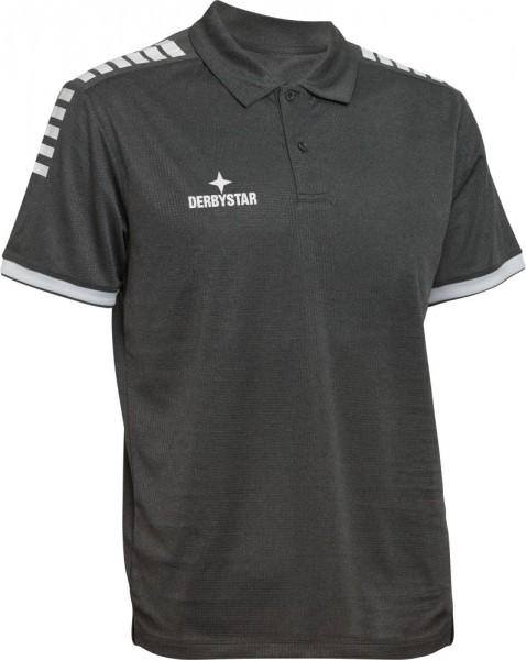 Derbystar Primo Polo-Shirt Herren grau schwarz