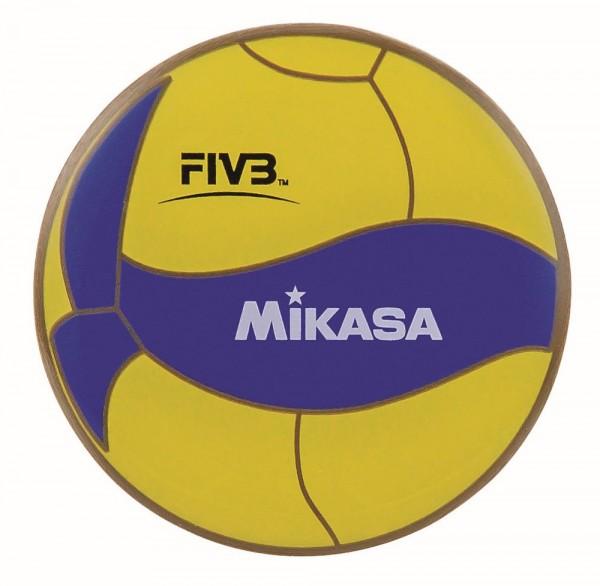 Mikasa AC-TC200W Toss Coin FIVB Schiedsrichter Wahlmünze gelb blau