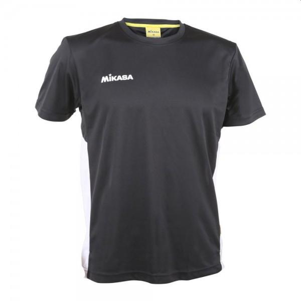 Mikasa Volleyball Trikot Herren schwarz weiß