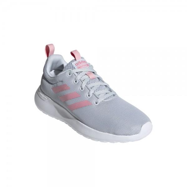 Adidas Lite Racer CLN Laufschuhe Mädchen grau pink