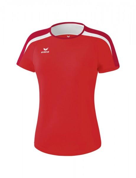 Erima Fußball Handball Liga 2.0 T-Shirt Trainingsshirt Damen rot weiß